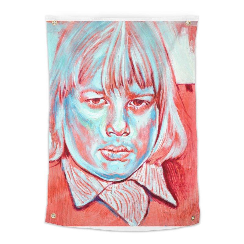 boris johnson Home Tapestry by paintings by Seamus Wray