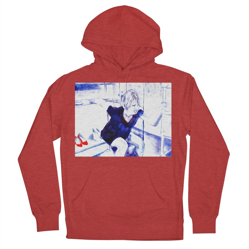 shoes Women's French Terry Pullover Hoody by paintings by Seamus Wray