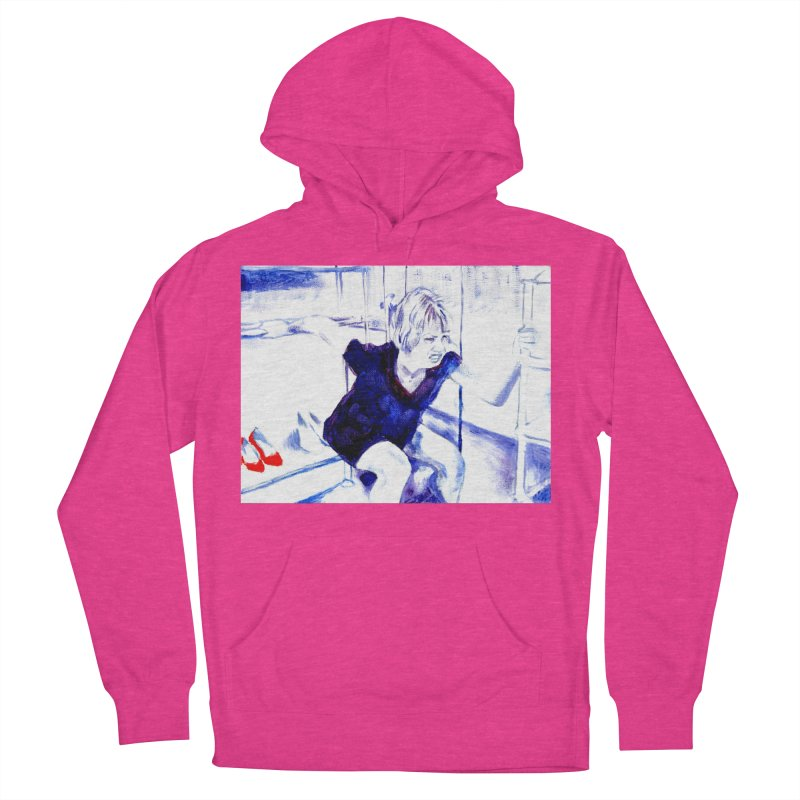 shoes Men's French Terry Pullover Hoody by paintings by Seamus Wray