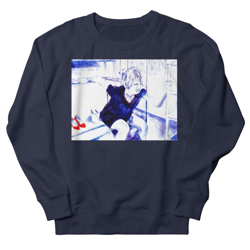 shoes Women's French Terry Sweatshirt by paintings by Seamus Wray