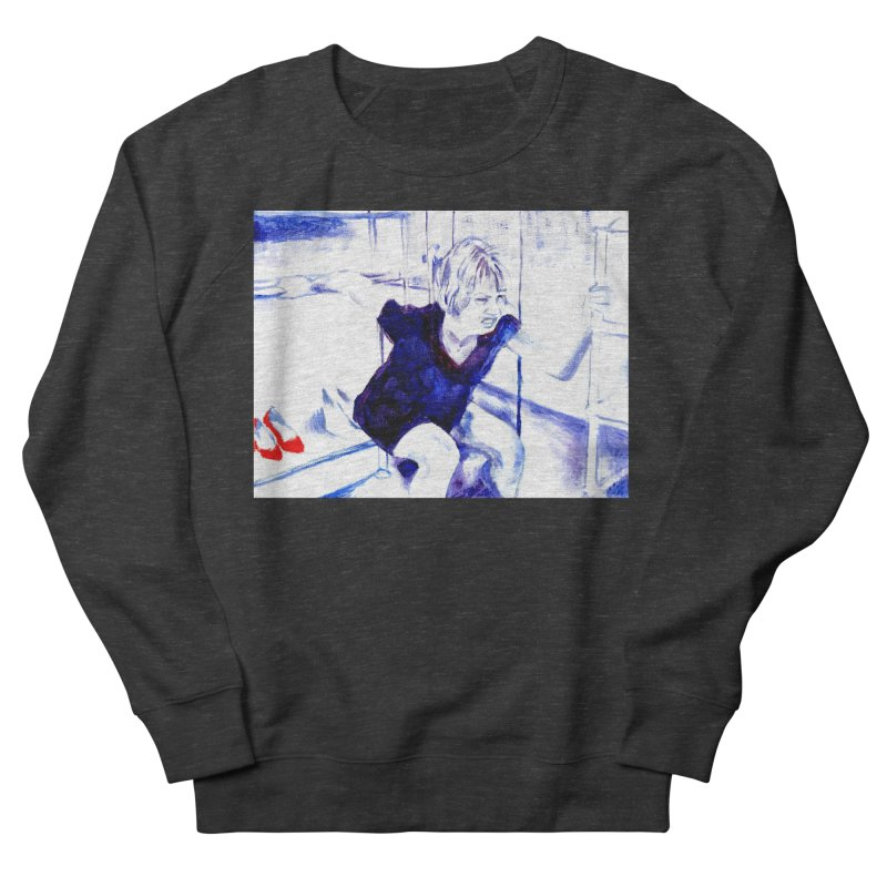 shoes Men's French Terry Sweatshirt by paintings by Seamus Wray