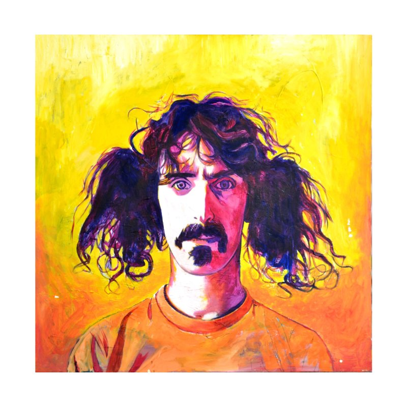 zappa by paintings by Seamus Wray