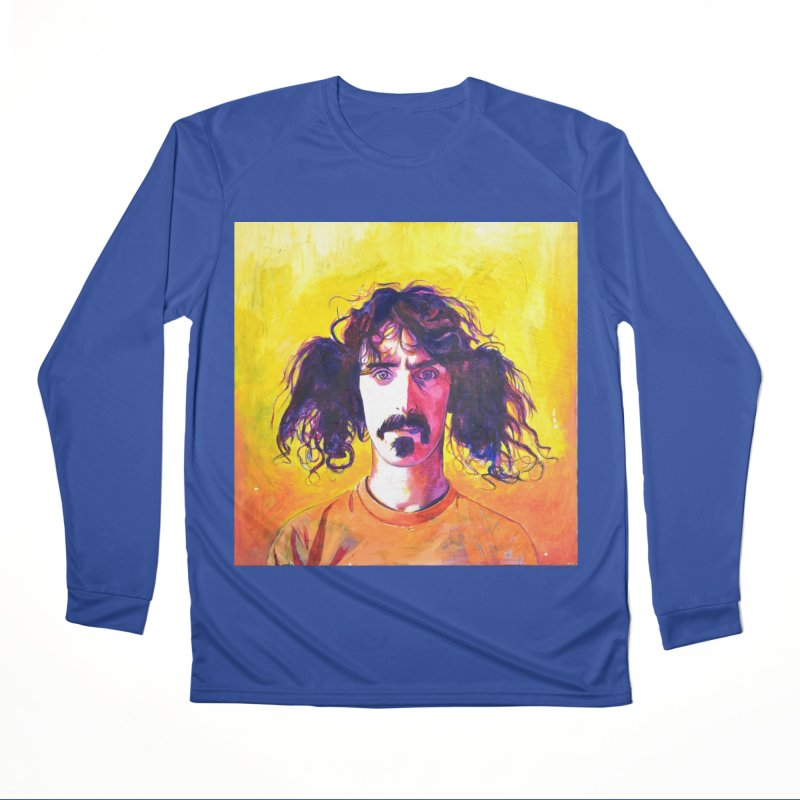 zappa Women's Performance Unisex Longsleeve T-Shirt by paintings by Seamus Wray