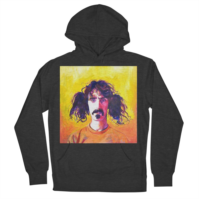 zappa Women's French Terry Pullover Hoody by paintings by Seamus Wray