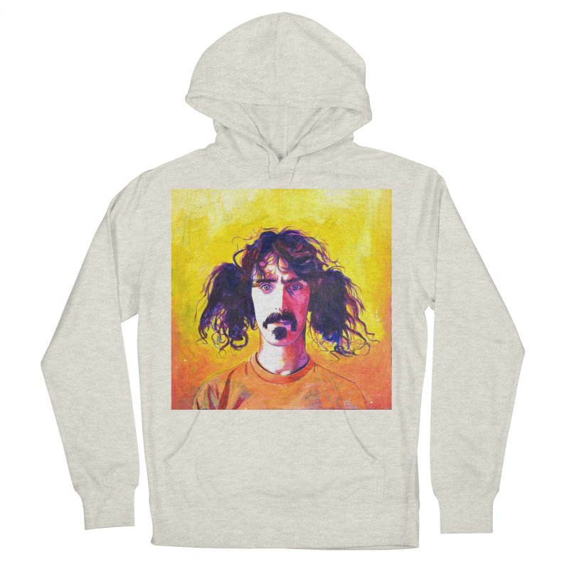 zappa Men's French Terry Pullover Hoody by paintings by Seamus Wray