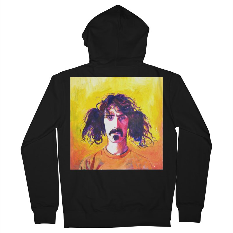zappa Women's French Terry Zip-Up Hoody by paintings by Seamus Wray
