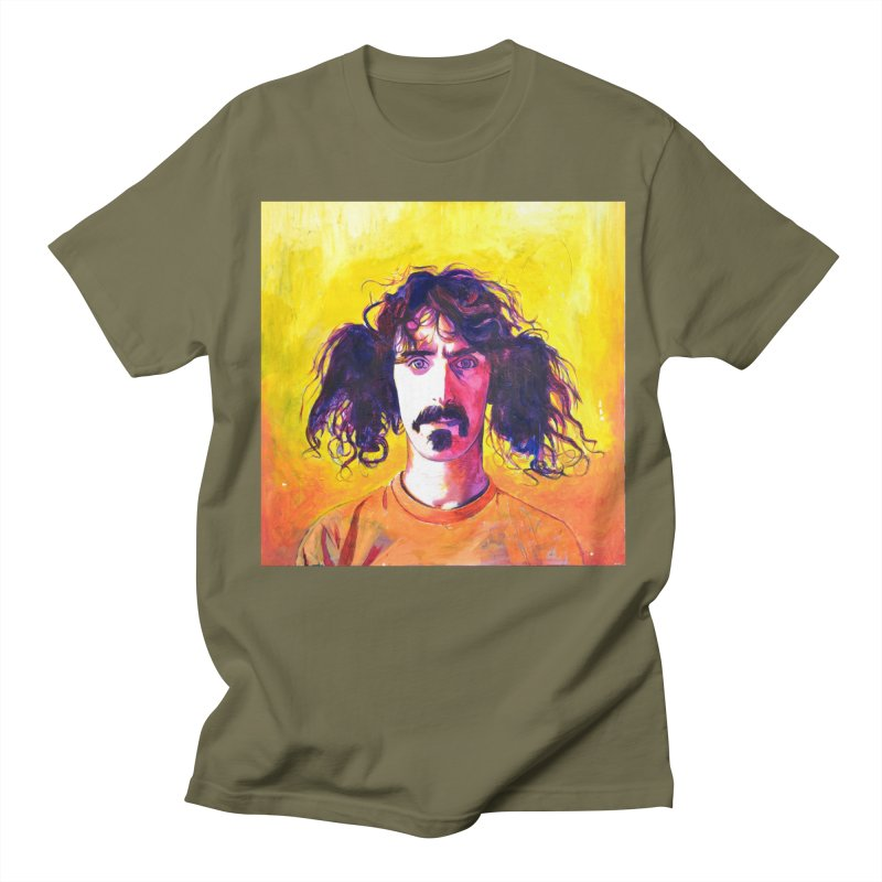 zappa Men's Regular T-Shirt by paintings by Seamus Wray
