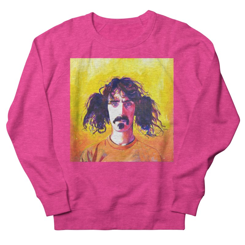 zappa Women's French Terry Sweatshirt by paintings by Seamus Wray