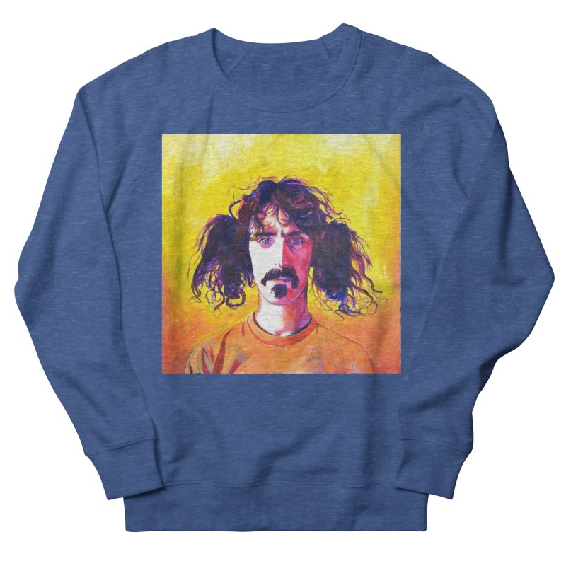 zappa Men's French Terry Sweatshirt by paintings by Seamus Wray