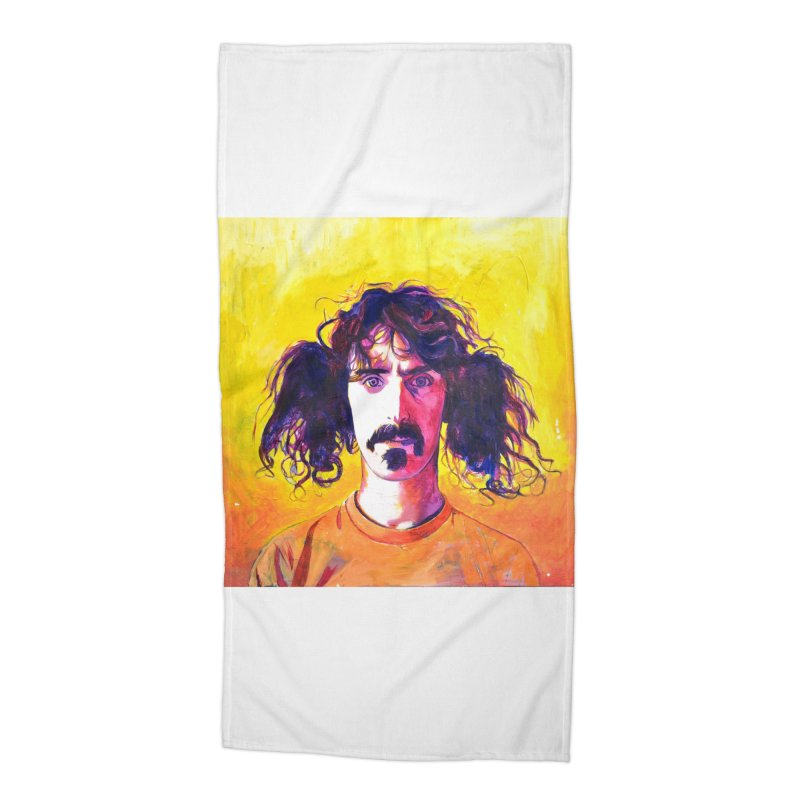 zappa Accessories Beach Towel by paintings by Seamus Wray