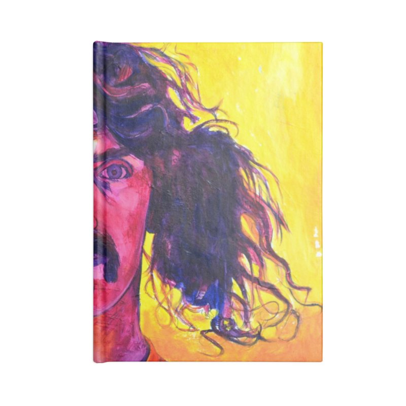 zappa Accessories Blank Journal Notebook by paintings by Seamus Wray