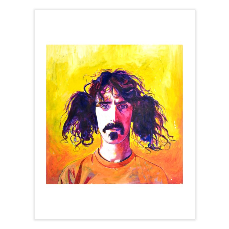 zappa Home Fine Art Print by paintings by Seamus Wray