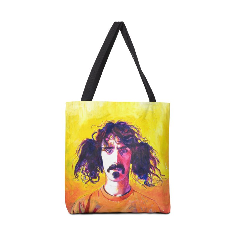 zappa Accessories Tote Bag Bag by paintings by Seamus Wray