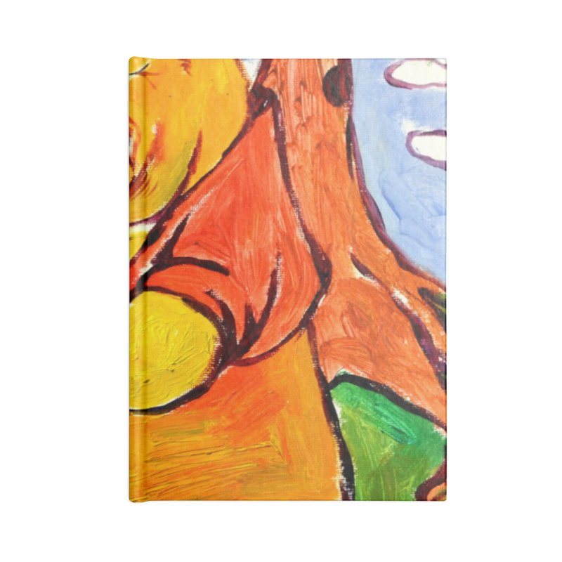 pooh Accessories Blank Journal Notebook by paintings by Seamus Wray