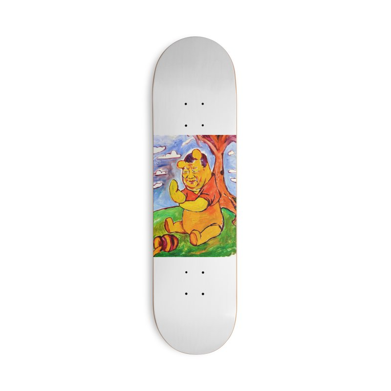 pooh Accessories Deck Only Skateboard by paintings by Seamus Wray
