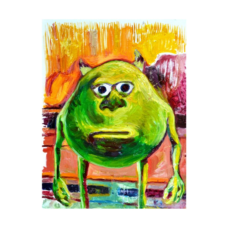 monsters inc by paintings by Seamus Wray