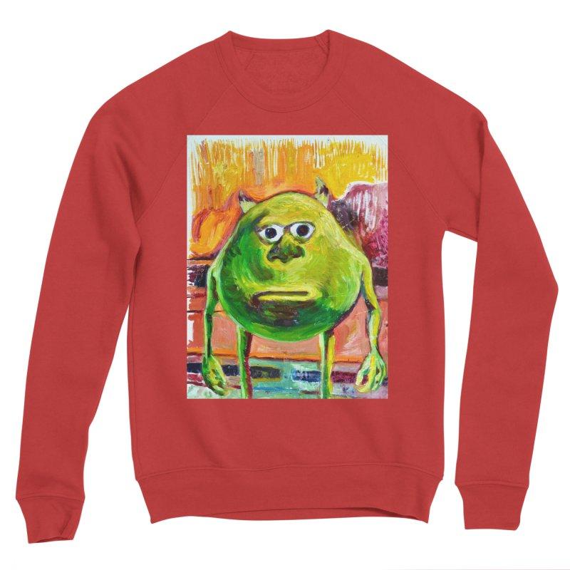 monsters inc Women's Sponge Fleece Sweatshirt by paintings by Seamus Wray