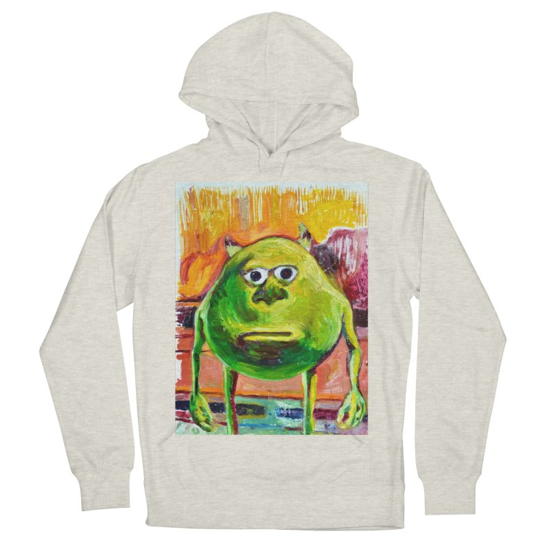 monsters inc Men's French Terry Pullover Hoody by paintings by Seamus Wray