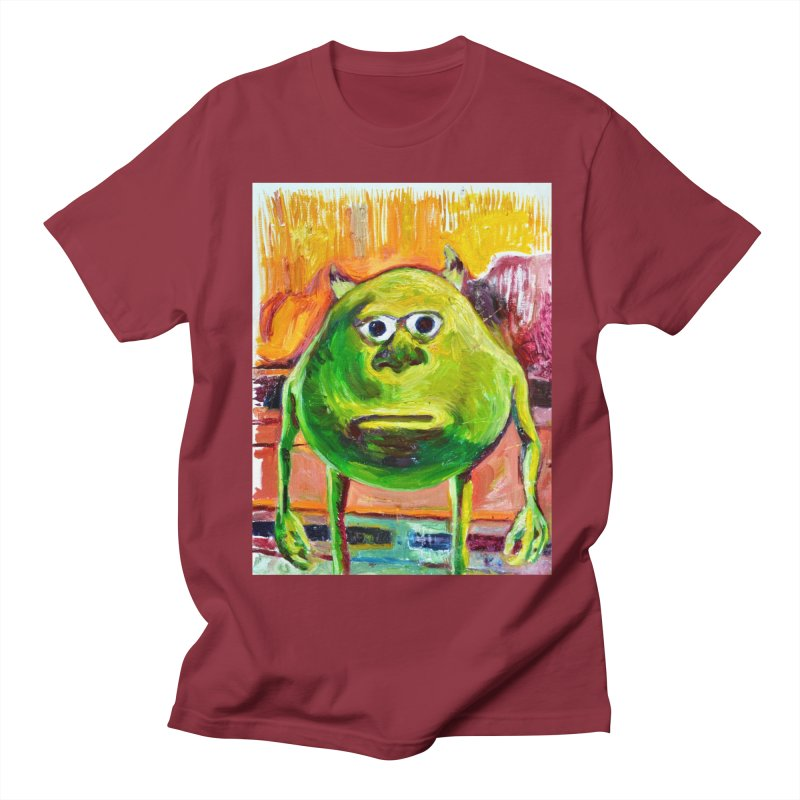 monsters inc Men's Regular T-Shirt by paintings by Seamus Wray