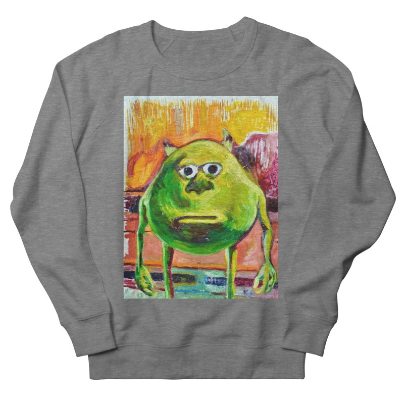 monsters inc Women's French Terry Sweatshirt by paintings by Seamus Wray