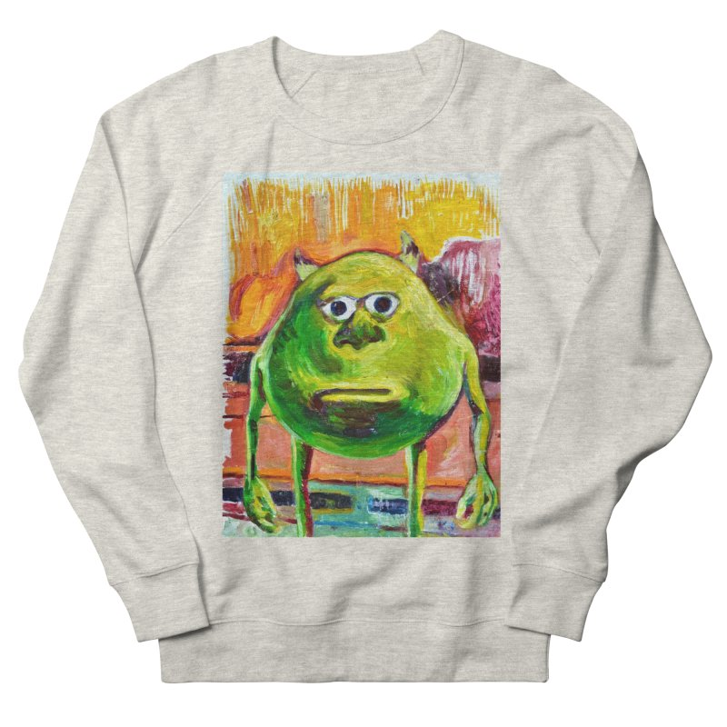 monsters inc Men's French Terry Sweatshirt by paintings by Seamus Wray