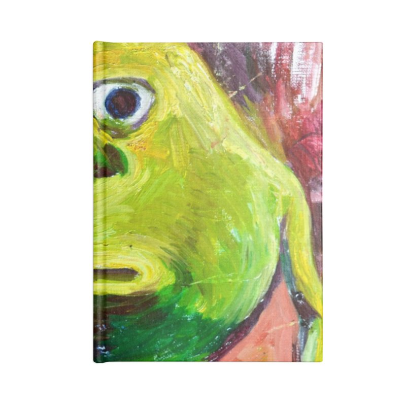 monsters inc Accessories Blank Journal Notebook by paintings by Seamus Wray
