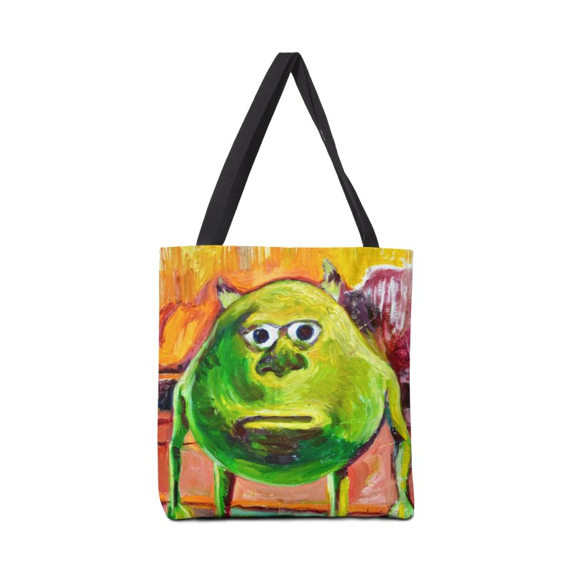 monsters inc Accessories Tote Bag Bag by paintings by Seamus Wray