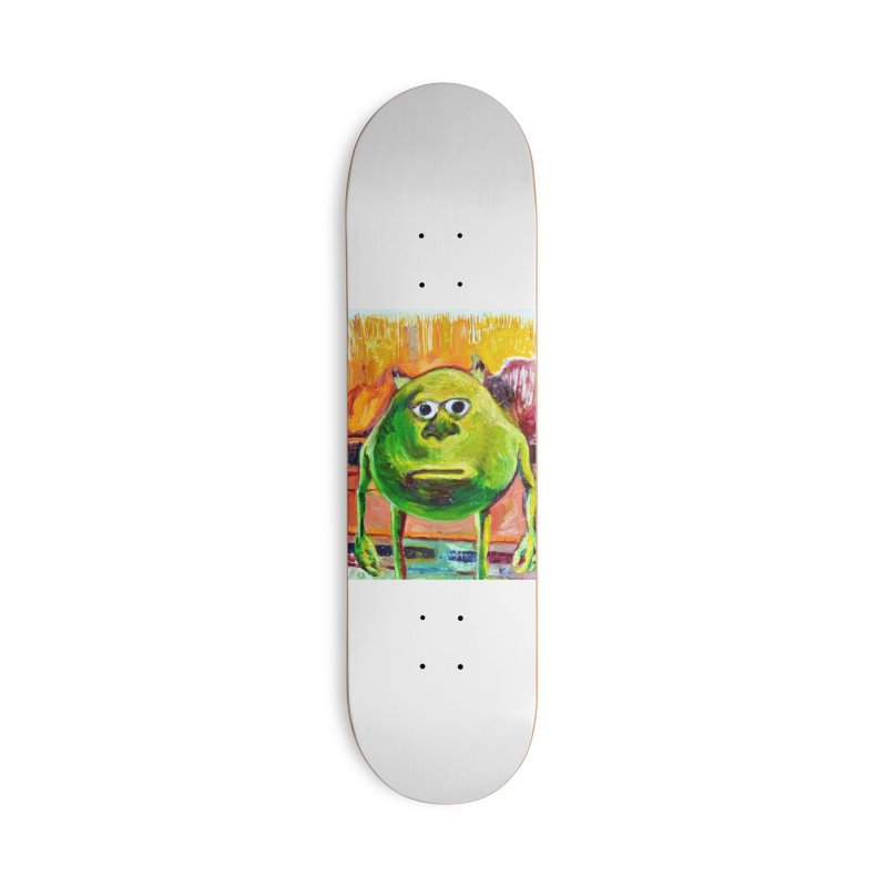 monsters inc Accessories Deck Only Skateboard by paintings by Seamus Wray
