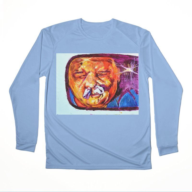 plug it up Women's Performance Unisex Longsleeve T-Shirt by paintings by Seamus Wray