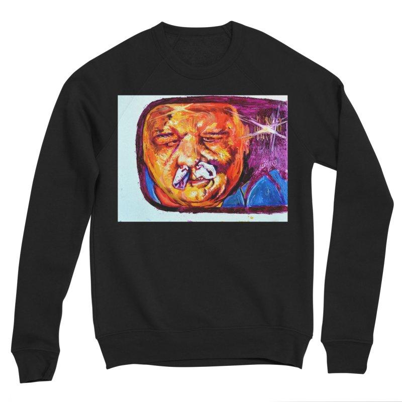 plug it up Women's Sponge Fleece Sweatshirt by paintings by Seamus Wray