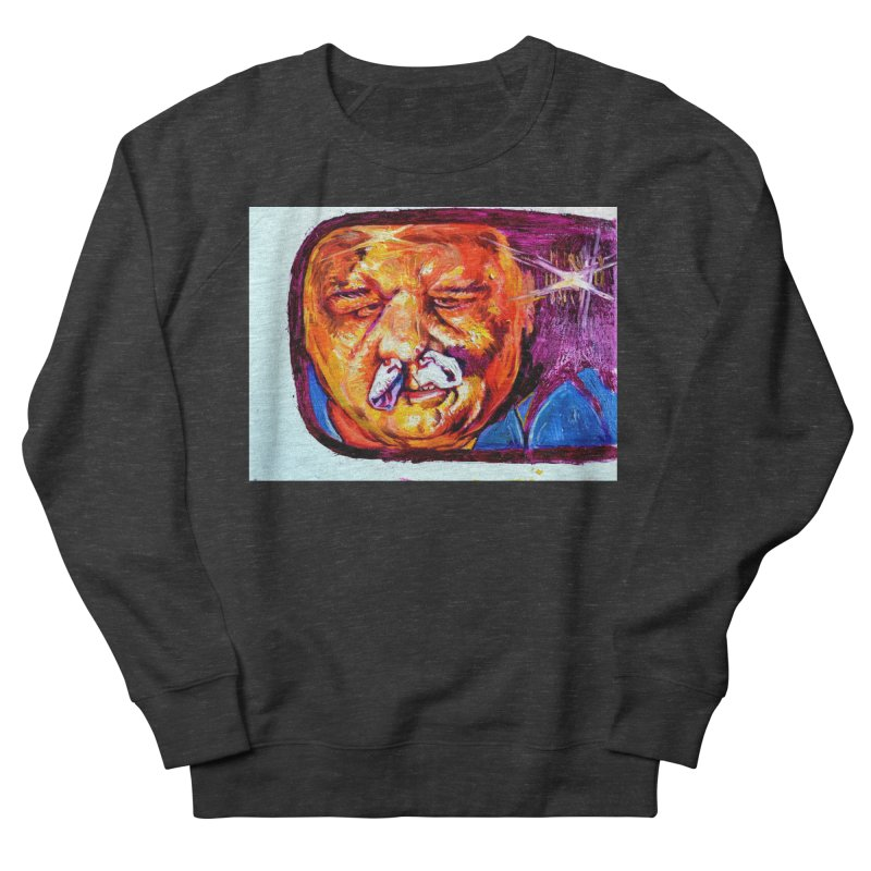 plug it up Women's French Terry Sweatshirt by paintings by Seamus Wray