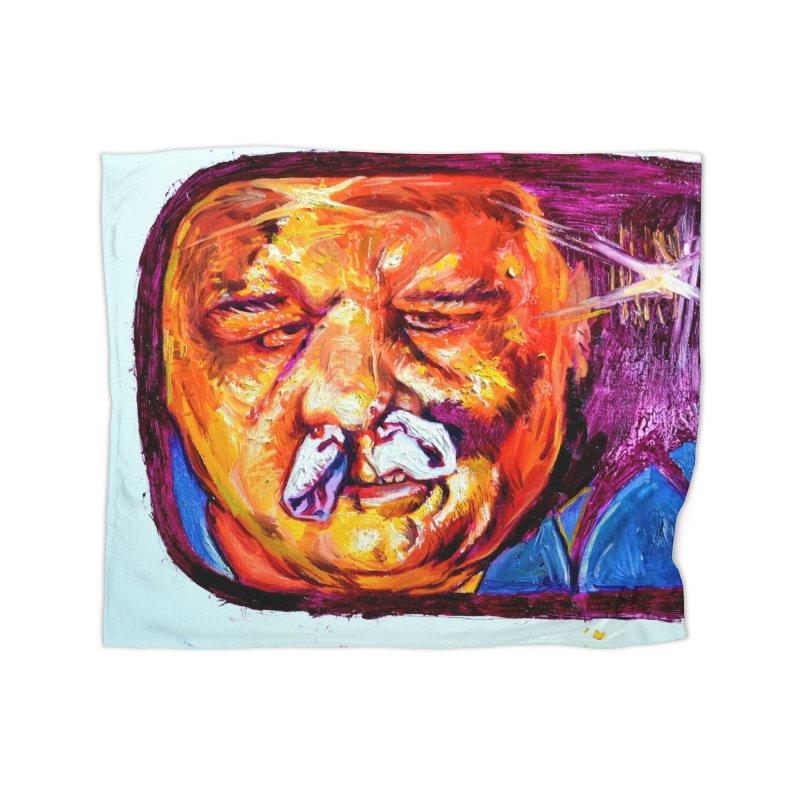 plug it up Home Fleece Blanket Blanket by paintings by Seamus Wray
