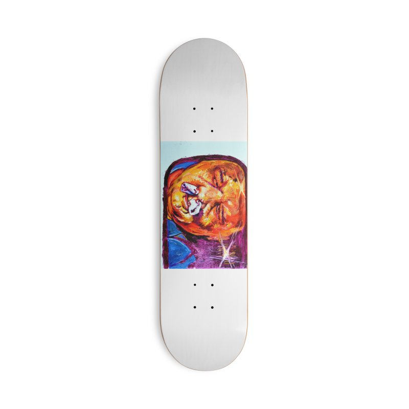 plug it up Accessories Deck Only Skateboard by paintings by Seamus Wray