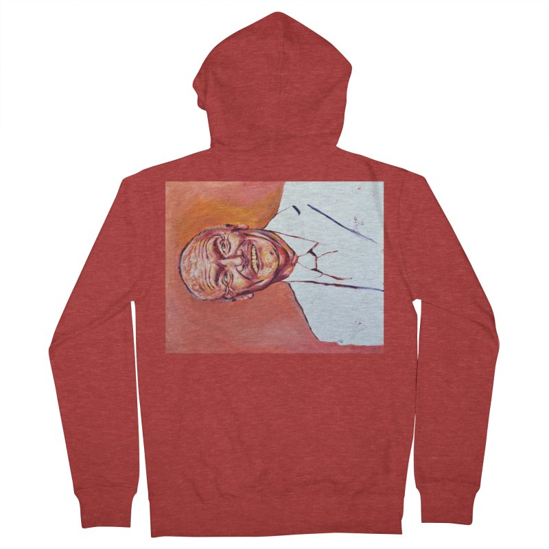 creed Men's French Terry Zip-Up Hoody by paintings by Seamus Wray