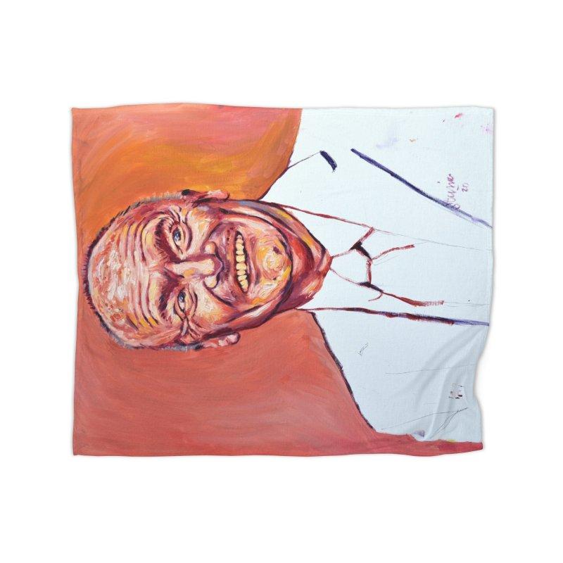 creed Home Fleece Blanket Blanket by paintings by Seamus Wray