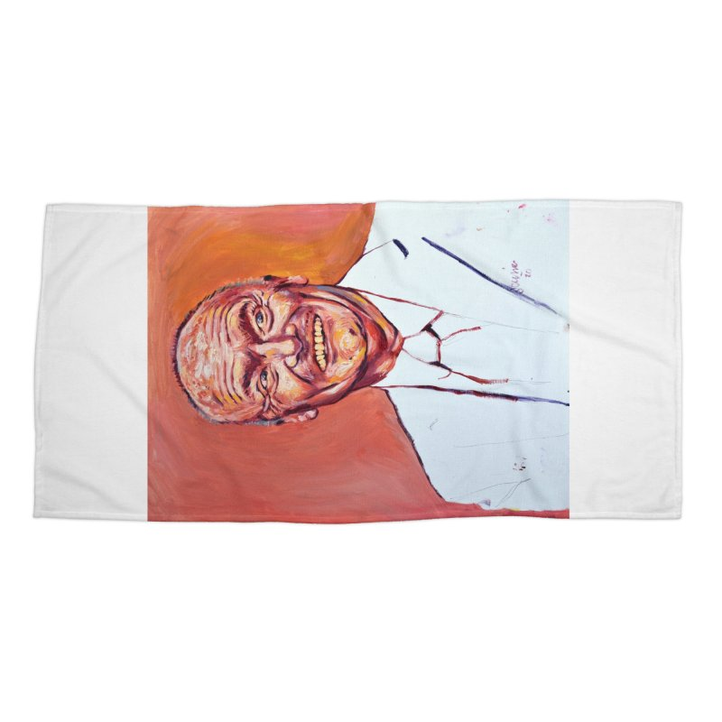 creed Accessories Beach Towel by paintings by Seamus Wray