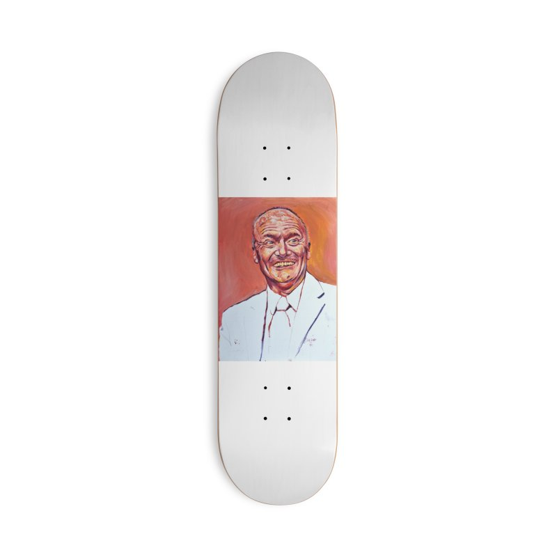 creed Accessories Deck Only Skateboard by paintings by Seamus Wray