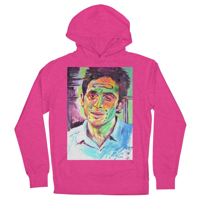 injection Women's French Terry Pullover Hoody by paintings by Seamus Wray