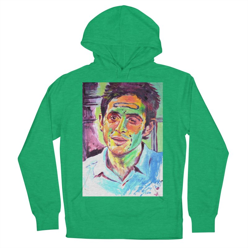 injection Men's French Terry Pullover Hoody by paintings by Seamus Wray