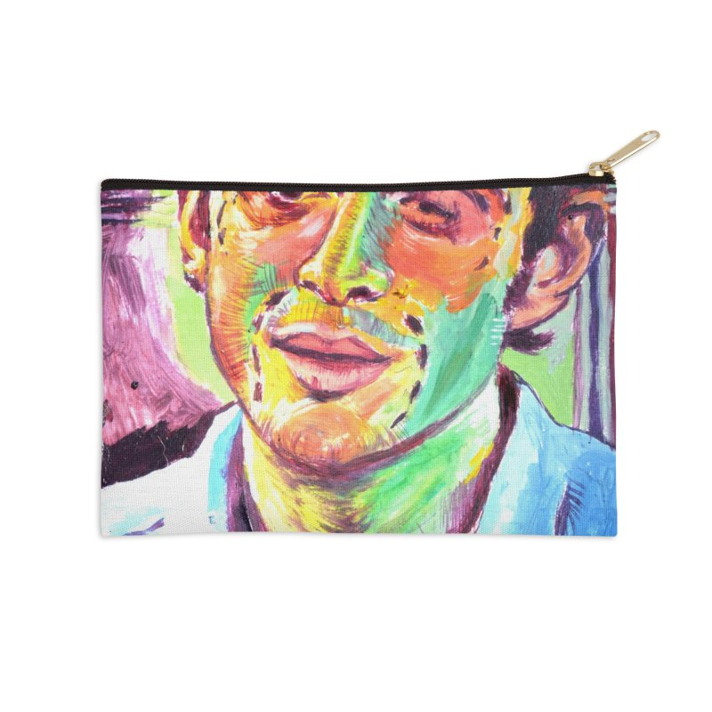 "injection Accessories Zip Pouch by Art Prints by Seama available under ""Home"""