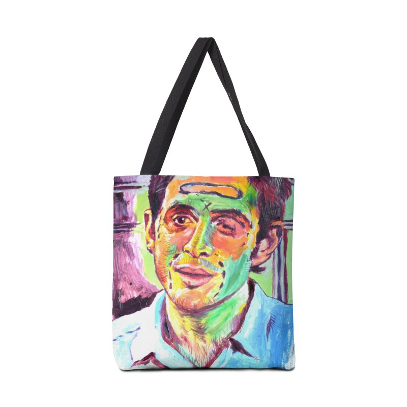 injection Accessories Tote Bag Bag by paintings by Seamus Wray