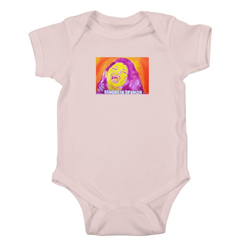 """laughs Kids Baby Bodysuit by Art Prints by Seama available under """"Home"""""""