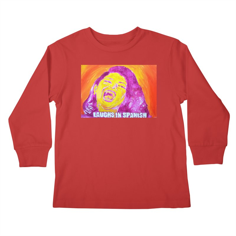 """laughs Kids Longsleeve T-Shirt by Art Prints by Seama available under """"Home"""""""
