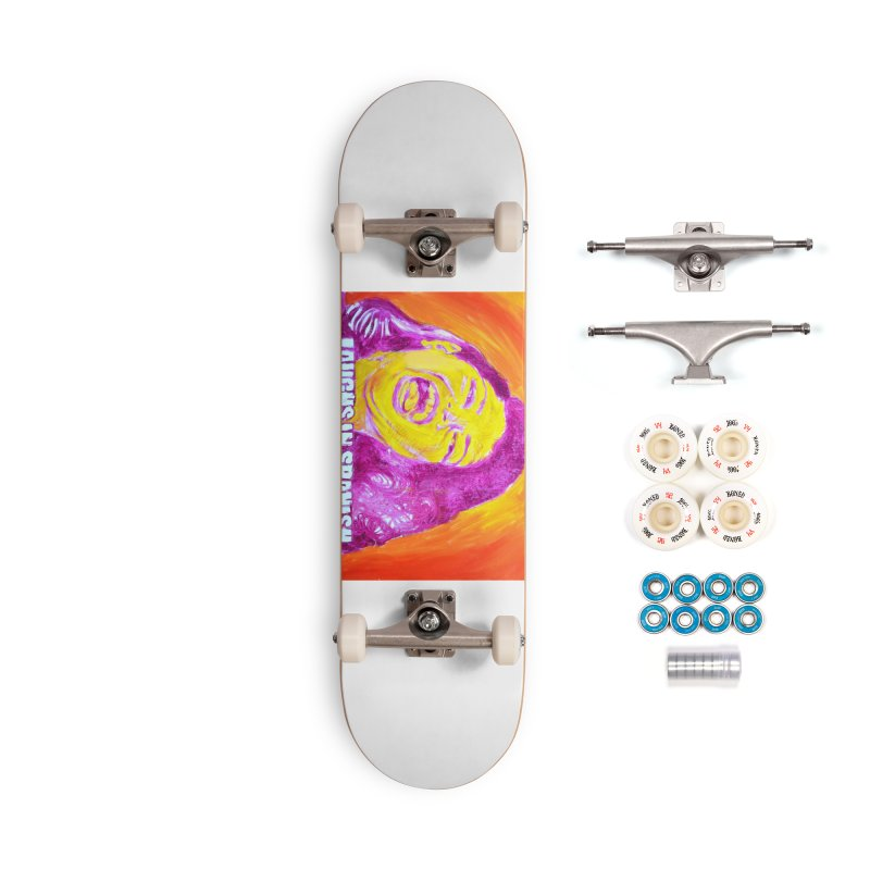 """laughs Accessories Complete - Premium Skateboard by Art Prints by Seama available under """"Home"""""""