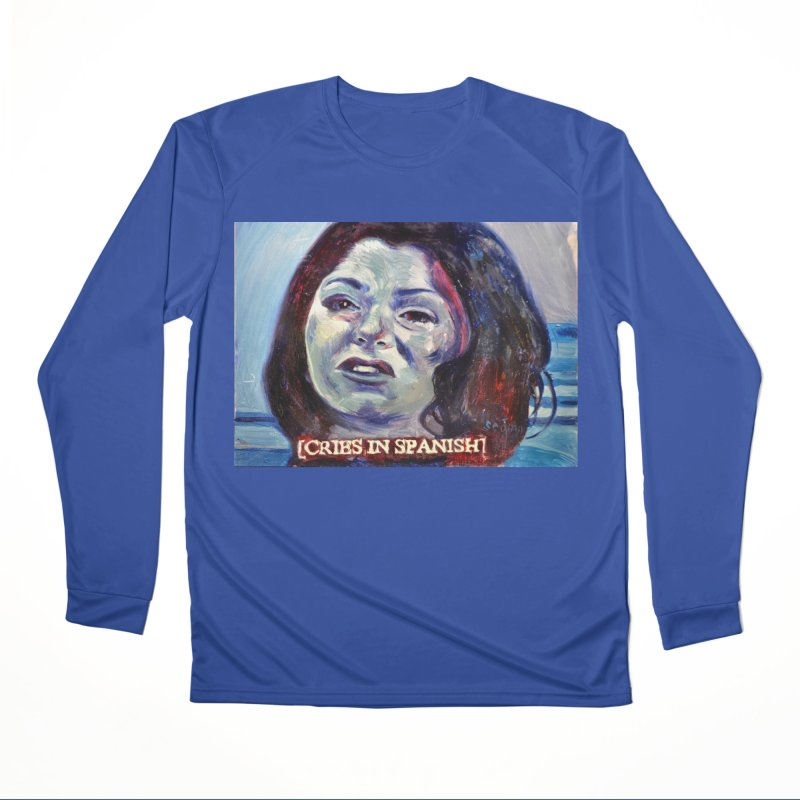 "cries Women's Performance Unisex Longsleeve T-Shirt by Art Prints by Seama available under ""Home"""
