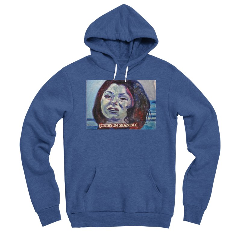 """cries Women's Sponge Fleece Pullover Hoody by Art Prints by Seama available under """"Home"""""""