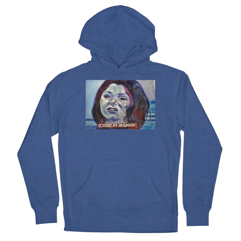 """cries Men's French Terry Pullover Hoody by Art Prints by Seama available under """"Home"""""""