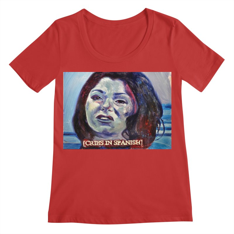 "cries Women's Regular Scoop Neck by Art Prints by Seama available under ""Home"""