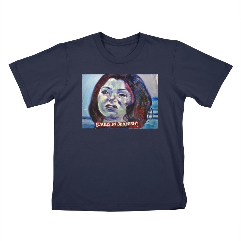"cries Kids T-Shirt by Art Prints by Seama available under ""Home"""