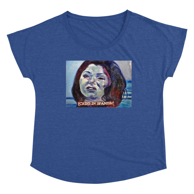 """cries Women's Dolman Scoop Neck by Art Prints by Seama available under """"Home"""""""